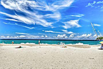 beach hdr nature travel sea
