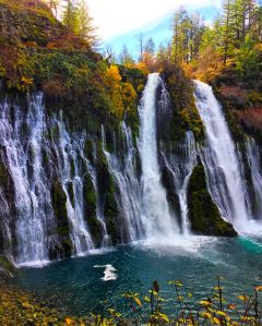 california travel photography waterfall nature