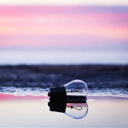 picsart clouds reflection