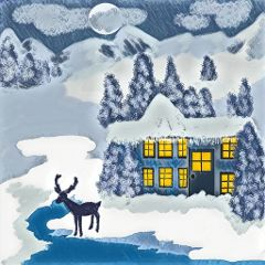 winter blues magiceffect landscape snow