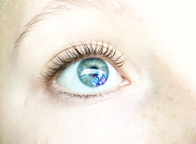 FreeToEdit Overlays Eyes Eye Balloon Overlighted White
