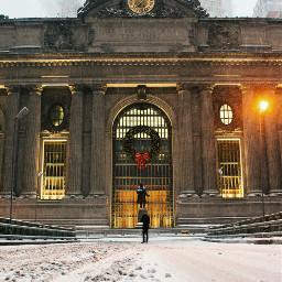 newyork grittystreet snow street buildingphotography