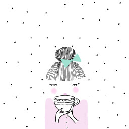 mydrawing drawing tea cup freetoedit