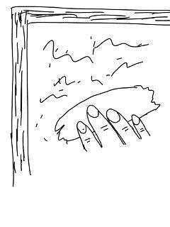 window windowwiping hand wiping pencilart