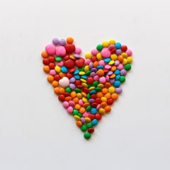 freetoedit candy heart skittles colorful
