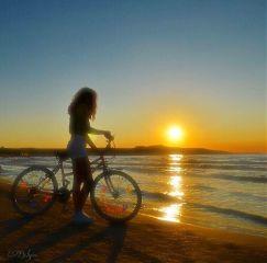 beach summer sunset sunsetcolors colorful freetoedit