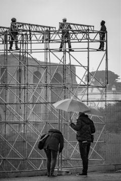 rome roma street streetphotography blackandwhite