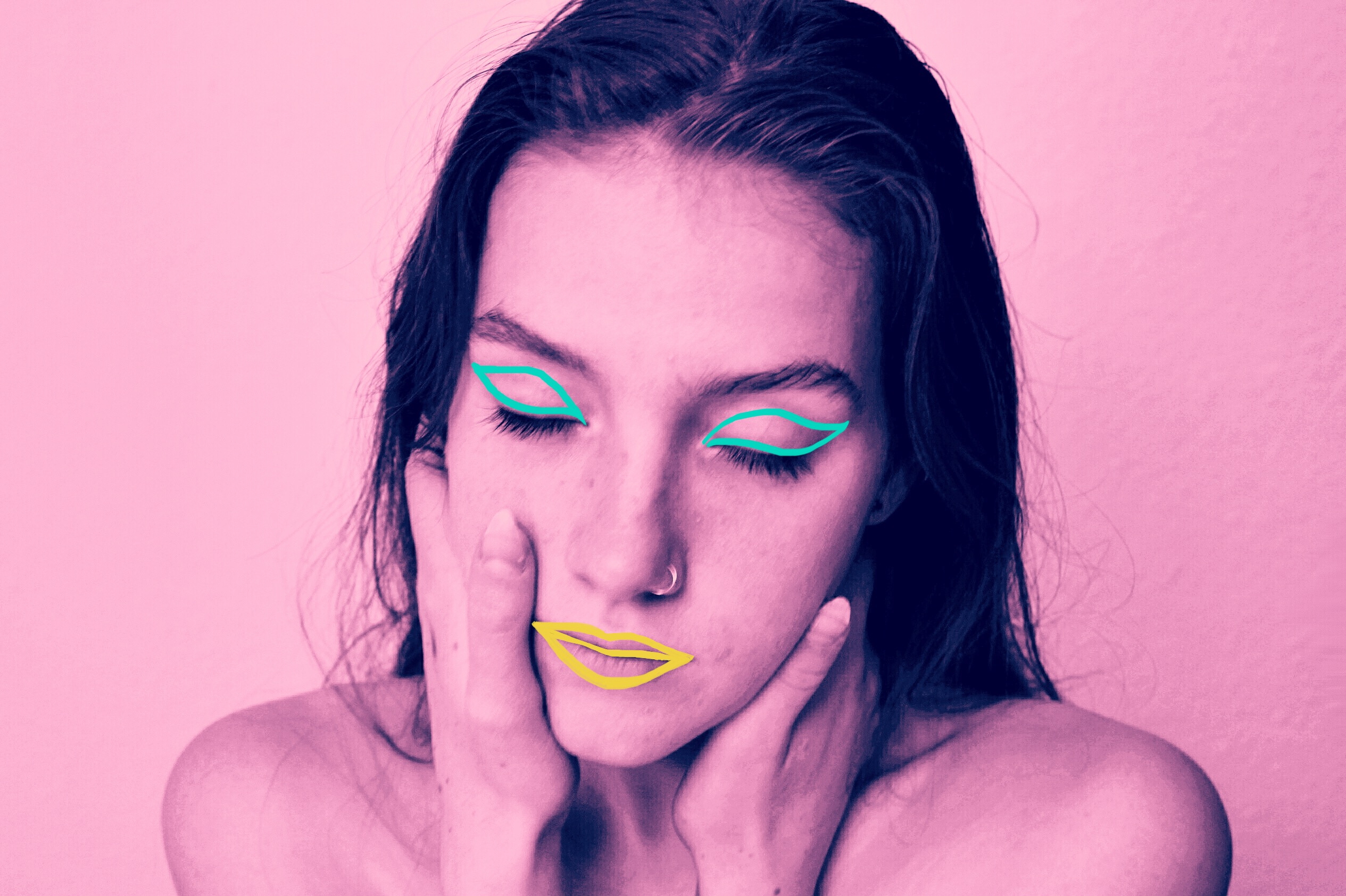 This Is the Easiest Neon Makeup Tutorial You'll Ever Find