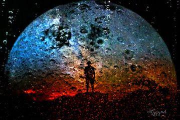 freetoedit gradienteffect moon
