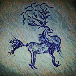 freetoedit deer deerseason spring doodles