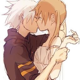 FreeToEdit art anime manga souleater kawaii beautiful love lovestory makaalbarn souleaterevans