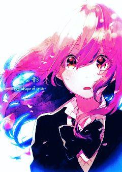 freetoedit animegirl crying voice