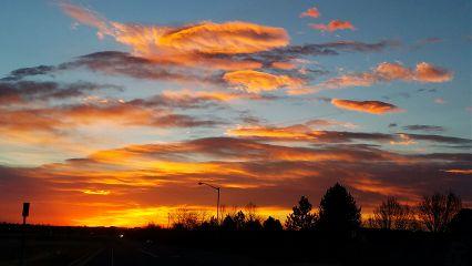 sunrise colorful photgraphy unedited