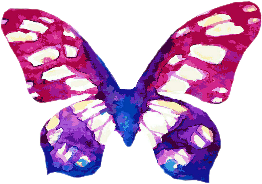 #butterfly  #sticker #pink #purple