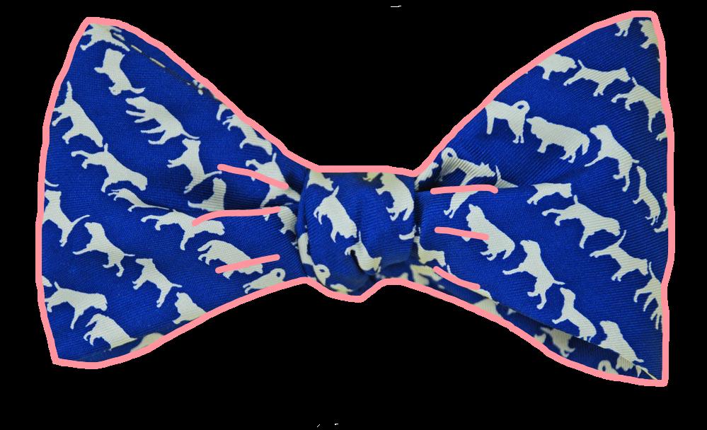 #ftestickers #bowtie #dogs #pattern #accessories #blue#FreeToEdit