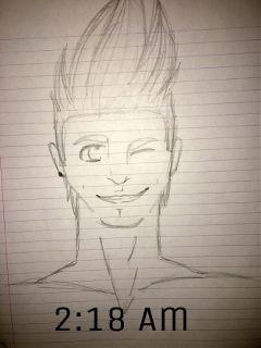 cute drawing smile myart boy