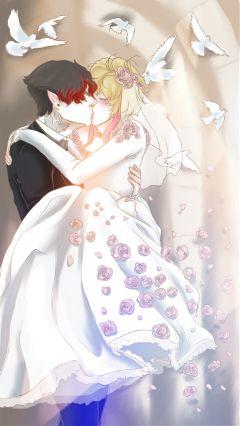 freetoedit digitaldrawing ocs yaoi married